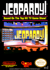 Jeopardy! Nintendo NES cover artwork
