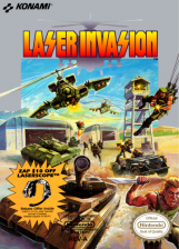 Laser Invasion Nintendo NES cover artwork