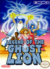 Legend of the Ghost Lion Nintendo NES cover artwork