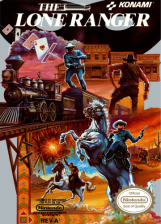 Lone Ranger, The Nintendo NES cover artwork