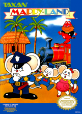 Mappy-Land Nintendo NES cover artwork