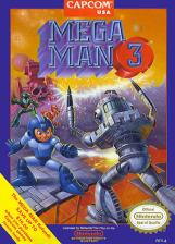 Mega Man 3 Nintendo NES cover artwork