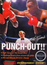 Mike Tyson's Punch-Out!! Nintendo NES cover artwork
