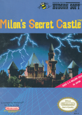Milon's Secret Castle Nintendo NES cover artwork