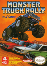 Monster Truck Rally Nintendo NES cover artwork