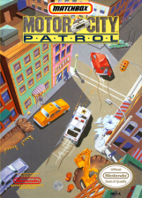 Motor City Patrol Nintendo NES cover artwork