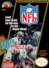 NFL Nintendo NES cover artwork