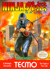 Ninja Gaiden - Shadow Warriors Nintendo NES cover artwork
