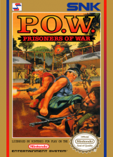 P.O.W. - Prisoners of War Nintendo NES cover artwork
