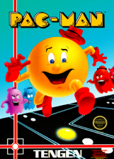 Pac-Man Nintendo NES cover artwork