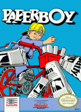 Paperboy Nintendo NES cover artwork