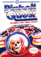 Pinball Quest Nintendo NES cover artwork