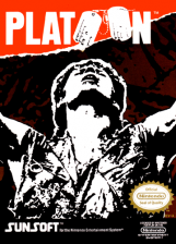 Platoon Nintendo NES cover artwork