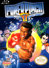Power Punch II Nintendo NES cover artwork