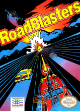 RoadBlasters Nintendo NES cover artwork
