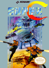 Super C Nintendo NES cover artwork