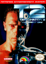 Terminator 2 - Judgment Day Nintendo NES cover artwork