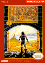 Times of Lore Nintendo NES cover artwork