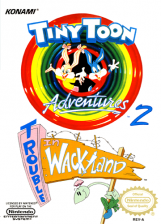 Tiny Toon Adventures 2 - Trouble in Wackyland Nintendo NES cover artwork