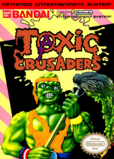 Toxic Crusaders Nintendo NES cover artwork