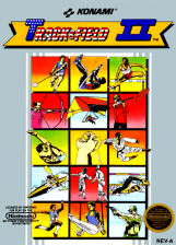 Track & Field II Nintendo NES cover artwork