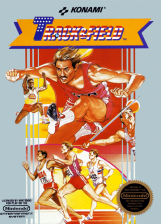 Track & Field Nintendo NES cover artwork