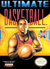 Ultimate Basketball Nintendo NES cover artwork