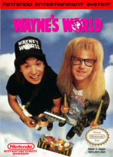 Wayne's World Nintendo NES cover artwork