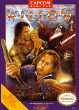 Willow Nintendo NES cover artwork