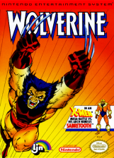 Wolverine Nintendo NES cover artwork
