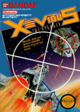Xevious - The Avenger Nintendo NES cover artwork