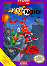 Yo! Noid Nintendo NES cover artwork