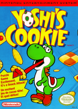 Yoshi's Cookie Nintendo NES cover artwork