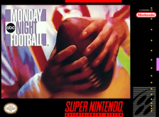 ABC Monday Night Football Nintendo Super NES cover artwork