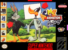 ACME Animation Factory Nintendo Super NES cover artwork