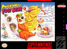 Adventures of Yogi Bear Nintendo Super NES cover artwork