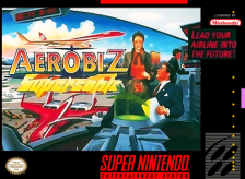 Aerobiz Supersonic Nintendo Super NES cover artwork