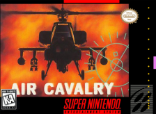 Air Cavalry Nintendo Super NES cover artwork