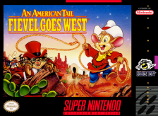 American Tail, An - Fievel Goes West Nintendo Super NES cover artwork