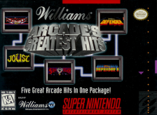 Arcade's Greatest Hits - The Atari Collection 1 Nintendo Super NES cover artwork