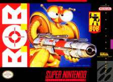 B.O.B. Nintendo Super NES cover artwork