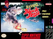 Bassin's Black Bass Nintendo Super NES cover artwork