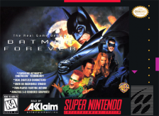Batman Forever Nintendo Super NES cover artwork
