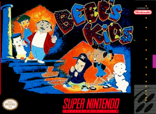 Bebe's Kids Nintendo Super NES cover artwork