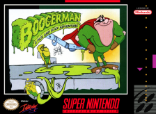 Boogerman - A Pick and Flick Adventure Nintendo Super NES cover artwork