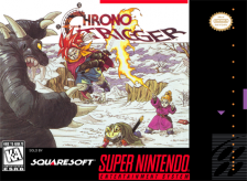 Chrono Trigger Nintendo Super NES cover artwork