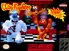 Clay Fighter - Tournament Edition Nintendo Super NES cover artwork