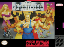 Combatribes, The Nintendo Super NES cover artwork