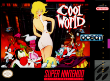 Cool World Nintendo Super NES cover artwork
