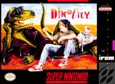 Dino City Nintendo Super NES cover artwork